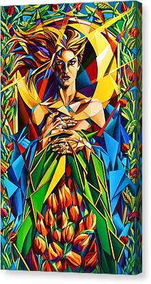 Muse  Spring Canvas Print by Greg Skrtic