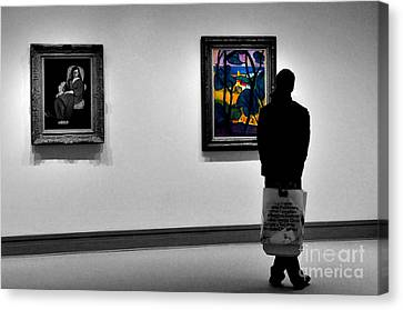 Museum 1 Canvas Print by Bob Stone