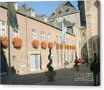 Museum Aachen Germany Canvas Print