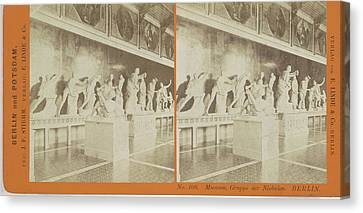 Berlin Canvas Print - Museum Der Gruppe Niobides Berlin, Germany by Artokoloro