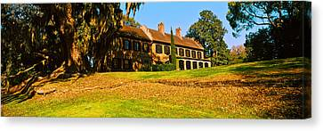 Museum In A Garden, Middleton Place Canvas Print by Panoramic Images