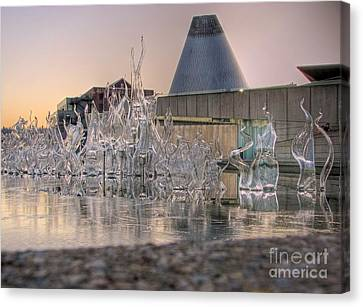 Canvas Print featuring the photograph The Museum Of Glass by Chris Anderson