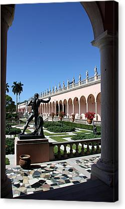 Museums Garden View  Canvas Print by Christiane Schulze Art And Photography
