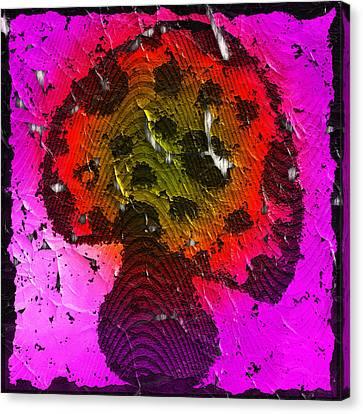 Shrooms Canvas Print - Mushroom by Melissa Osborne