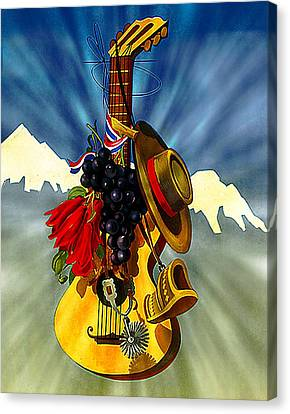 Music Canvas Print by Allen Beilschmidt