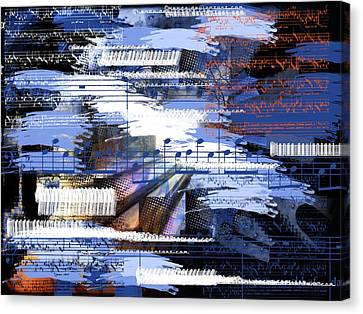 Music From Ama Canvas Print