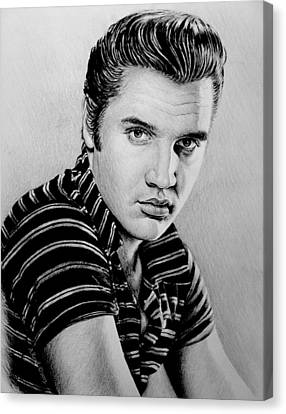 Music Legends Elvis Canvas Print