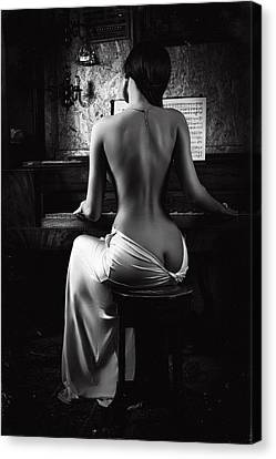 Music Of The Body Canvas Print