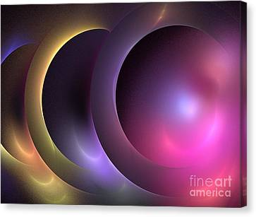Music Of The Spheres Canvas Print by Kim Sy Ok