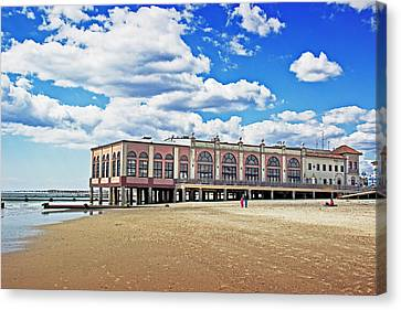 Music Pier Canvas Print by Tom Gari Gallery-Three-Photography