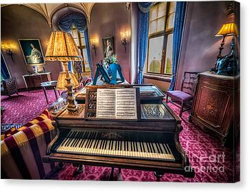 Music Room Canvas Print by Adrian Evans