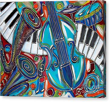 Music Time 1 Canvas Print