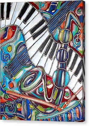 Music Time 3 Canvas Print