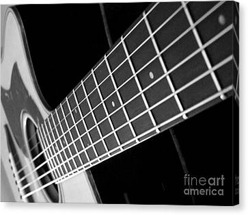 Canvas Print featuring the photograph Music To My Soul by Andrea Anderegg