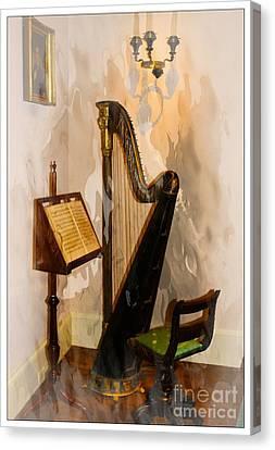 Musical Corner Canvas Print