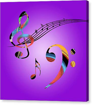 Musical Dreams Canvas Print