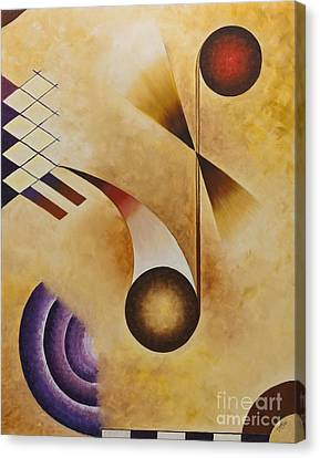 Musical Journey Iv Canvas Print