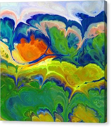 Musical Landscape Canvas Print by Lutz Baar