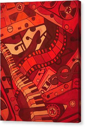 Musical Movements Canvas Print by Chelsea Allen