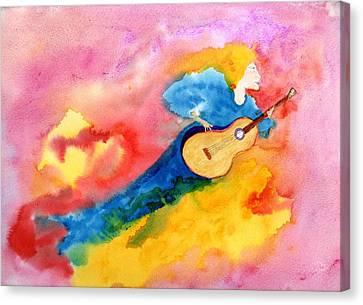 Musical Spirit 19 Canvas Print