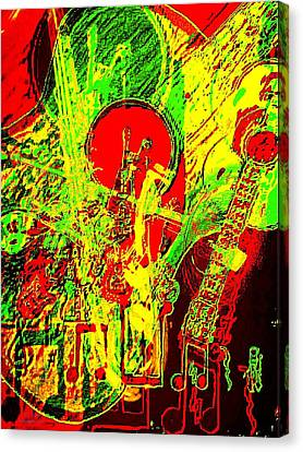 Musically Inclined Canvas Print by Larry E Lamb