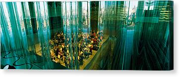 Musicians At A Concert Hall, Casa Da Canvas Print by Panoramic Images