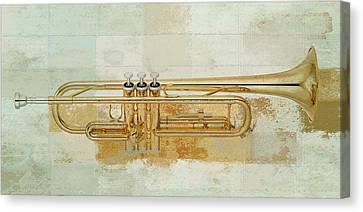 Musikalis - J0881000997f3a Canvas Print