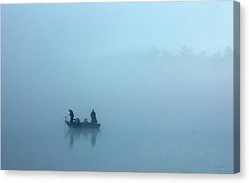 Musky Love Canvas Print by RJ Martens