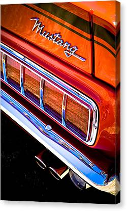 Mustang Mach 1 Canvas Print by Phil 'motography' Clark