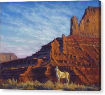 Mustang Ridge Monument Valley Az Canvas Print