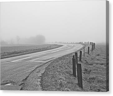 Mute Landscape Canvas Print by Odd Jeppesen