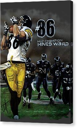 Mvp Hines Canvas Print by William Western