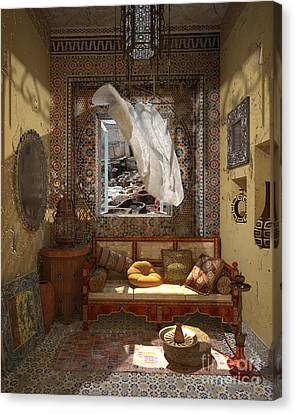 My Art In The Interior Decoration - Morocco - Elena Yakubovich Canvas Print