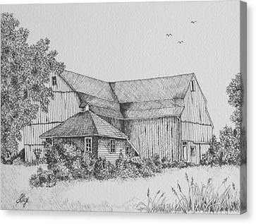 My Barn Canvas Print