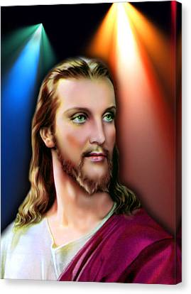 My Beautiful Jesus 3 Canvas Print by Karen Showell