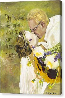 My Beloved Is Mine Canvas Print