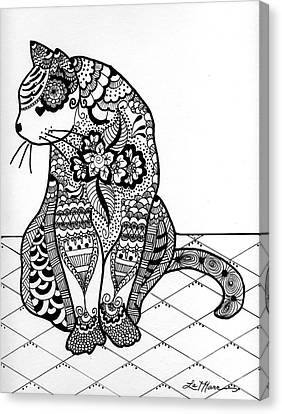 My Cat Canvas Print by Lamarr Kramer