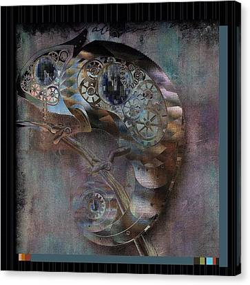 Chameleon - Vspgr01b Canvas Print by Variance Collections