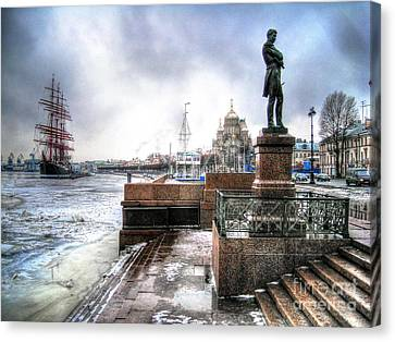 my city Peterburg Canvas Print by Yury Bashkin