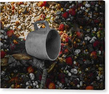 My Cup Falleth Over Canvas Print