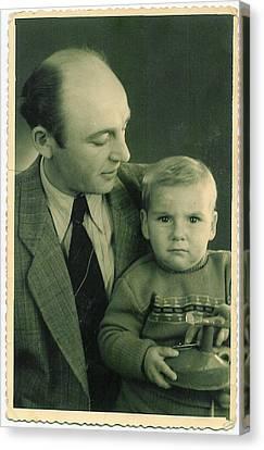 My Dad - My Angel Canvas Print