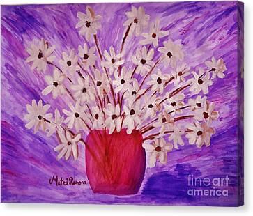My Daisies Canvas Print by Ramona Matei