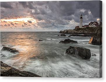 My Day Begins Canvas Print by Jon Glaser