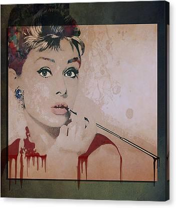 My Fair Lady Canvas Print by Marie  Gale