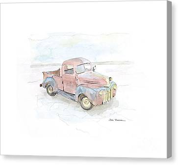 My Favorite Truck Canvas Print by Joan Sharron