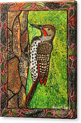 My Friend Flicker Canvas Print by Melissa Cole