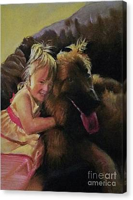 My Friend Canvas Print by Rose Wang