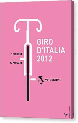 Free Canvas Print - My Giro D' Italia Minimal Poster by Chungkong Art