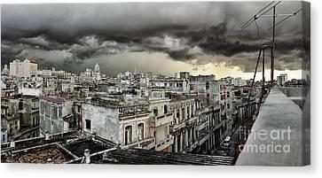 My Havana Roof Canvas Print