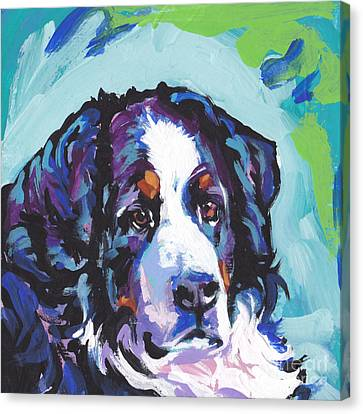 My Heart Berner Canvas Print by Lea S